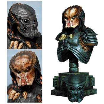 AvP Celtic Predator Mini Bust