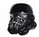 Shadow Stormtrooper Helmet Replica Scale 1:1 excl